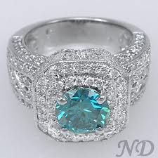 blue diamond ring - Google Search