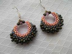 Beaded Earrings Silver 925 Shabby Chic - MichaelaBijoux | Crafty