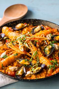 This stunning paella recipe is full of tips and tricks for making this classic…