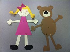 Fairytale Theme - Goldilocks & the Three Bears www.letsgetreadyforkindergarten.com