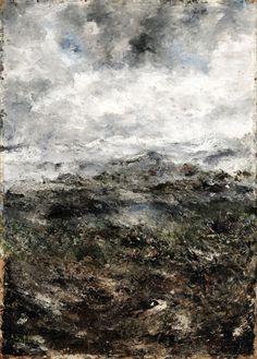 Alpine Landscape I, 1894, August Strindberg