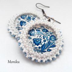 Beading, Crochet Earrings, Jewelry, Fashion, Moda, Beads, Jewlery, Jewerly, Fashion Styles