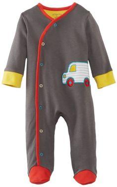! Amazon.com: Offspring - Baby Apparel Boys Newborn Motorway Footie, Grey Multi, 3 Months: Clothing