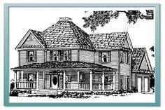 Beautiful 4 bdrm Authentic Historical Designs, LLC House Plan