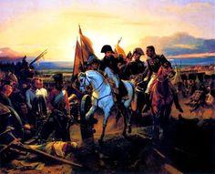 Victoria de Napoleón en Friedland, cuadro de Vernet Más en www.elgrancapitan.org/foro