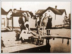 Francisco Villa en traje de baño