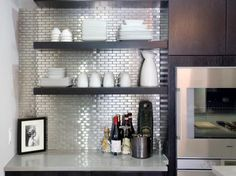 Modern Kitchen Backsplash love the tile!contemporary kitchens from amy bubier : designers