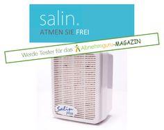 Wir suchen Tester für die Geräte der Salin MedicAir GmbH vom Typ Salin plus. Ausschreibung 20.03.2015-27.03.2015. Weitere Infos gibt es hier: http://www.abnehmguru-magazin.de/salin/