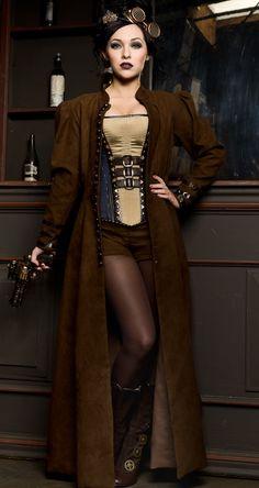 Steampunk Girl http://steampunk-girl.tumblr.com/ #SteamPUNK ☮k☮ #girl