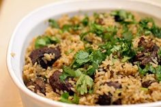 How to prepare pilau with pilau ingredients using a simple Swahili pilau rice recipe. Click here for a guide on cooking pilau and beef pilau recipe.