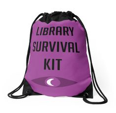 "Welcome To Night Vale ""Library Survival Kit"" by fakebadger"