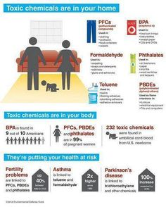 These Toxic Chemicals are in your Home!