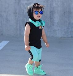 When your futures to bright even with your shades on 🌟 Teenage Boy Fashion, Toddler Boy Fashion, Little Boy Fashion, Little Boy Outfits, Cute Outfits For Kids, Baby Boy Outfits, Stylish Boy Clothes, Stylish Little Boys, Cute Baby Girl Pictures