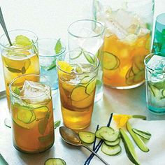 Cucumber Pimm's Cup | CookingLight.com