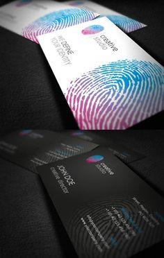 RW Fingerprint Creative Studio Corporate Identity