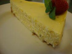Orange Mint Cheesecake