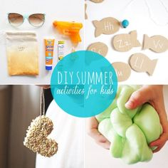 10 DIY Summer Activities for Kids