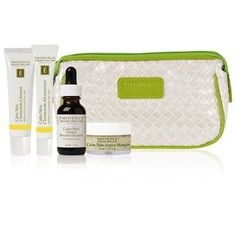 Eminence Bright Skin Starter Set is beautifully packaged with a one-month's supply of targeted organic products to treat uneven skin types. Organic Skin Care, Natural Skin Care, Organic Makeup, Natural Makeup, Puerto Rico, Eminence Organics, Thing 1, Coconut Oil For Skin, Starter Set