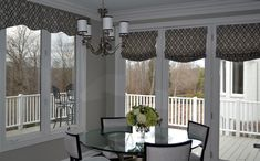 Kitchen valance and soft shades by Your Design Partner