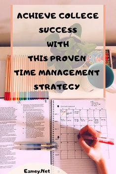 To succeed in college, you have to be aware of the time management for college students. To achieve practical and effective time management, there are tools and skills to be learned. To ultimately design a time management schedule and strategy flexible enough to accommodate your increasingly busy life. Get ahead, stop cramming, start doing more with your time.