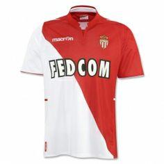 13-14 AS Monaco FC Home Soccer Jersey Shirt As Monaco Fc, Soccer Shirts, Soccer Players, Jersey Shirt, France, Mens Tops, Html, Presentation, Link