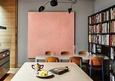 dining - bookshelves | kinfolk