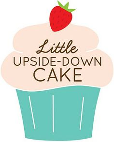 Cute bakery logo. Colors and fonts used in a little cupcake well represent the concept of a bakery.