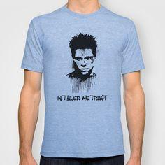 In Tyler We Trust... T-shirt by Jon Hernandez - $18.00