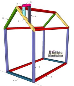 Free Diy Furniture Plans How To Build A Toddler House