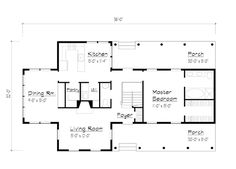 Country Farmhouse House Plan 41013 -- not too bad. I'd make the kitchen bigger, add a mudroom off of it, change master bedroom into guest/library, make that closet the bath and the bathroom part of the porch. Upstairs, I'd make the lower bedroom the master with a fireplace and add a master bath over the dining room.