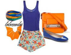Cool #style for #Summer, See info. about this outfit here : http://lolomoda.com/summerfashion-casual-wear2014/