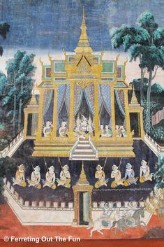 Thai Art, Thai Thai, Riverside Park, Vientiane, Phnom Penh, Angkor Wat, National Museum, Southeast Asia, Asian Art