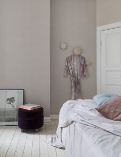 Eco Wallpaper Crayon - Dusty Violet
