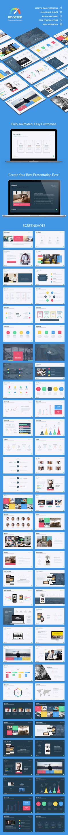 Booster Powerpoint Template — Powerpoint PPT #education #creative powerpoint • Download ➝ https://graphicriver.net/item/booster-powerpoint-template/18866926?ref=pxcr