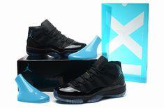 687eb5a6461a2f Retro Air Jordan XI(11) Women Gamma Blue-007