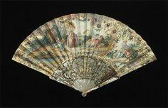Folding Fan Most likely French 1740-1760