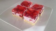 recept na red velvet Sweet Desserts, Sweet Recipes, Dessert Recipes, Czech Recipes, Russian Recipes, Food For A Crowd, Food To Make, Red Velvet, Cheesecake