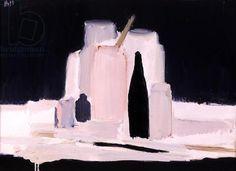 Nicolas de Stael, The Black Bottle, 1955 (oil on canvas)