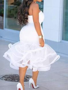 Short African Dresses, Latest African Fashion Dresses, African Party Dresses, Plus Wedding Dresses, African Wedding Attire, Lace Dress Styles, African Traditional Dresses, Classy Dress, Bodycon Dress