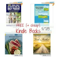 Free Kindle Books: 110 Ideas to Keep Kids Busy Without Technology, Gluten-Free 101, The Five Love Languages Gift Edition, plus more