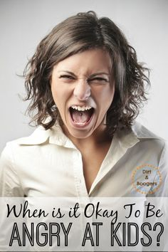 I had a few people give me a hard time for admitting that I get angry at my kids. Really!? Doesn't EVERY parent get angry now and again?