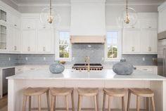 Beach House Kitchens, Condo Kitchen, Home Kitchens, Kitchen Remodel, Remodeled Kitchens, Coastal Kitchens, Real Kitchen, Kitchen Reno, Blue Kitchen Tiles