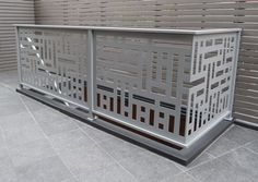 We provide all kind of Laser and CNC cutting work on these product Mdf metal steel Stainless Acrylic jali partition tree Aluminium railing g. Balcony Grill Design, Grill Door Design, Balcony Railing Design, Gate Design, House Design, Metal Stair Railing, Railings, Stairs Handle, Aluminium Gates