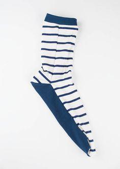 Socken nähen13