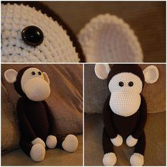 Georgette the Crochet Monkey... I finished this awhile ago and never posted it on Instagram. #crochet #finishedprojects #yarnaddict #yarnaholic #yarnporn #monkey #crocheter #knittersofinstagram #amigurumi #ami #crochetofinstagram #crochetlove #monkeyonmyshoulder #yearofthemonkey by vickyness
