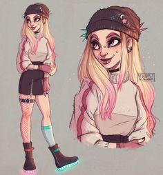 Resultado de imagem para tumblr girl ilustração