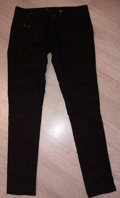 Odzież Używana Wschowa tel 574671215: Spodnie damskie czarne rurki RIVER ISLAND r.XS/S, ... River Island, Black Jeans, Golf, Pants, Fashion, Tunics, Trouser Pants, Moda, Fashion Styles