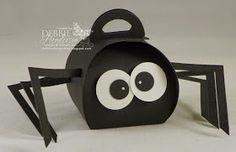 Debbie's Designs: Curvy Keepsakes Box Die Spider!