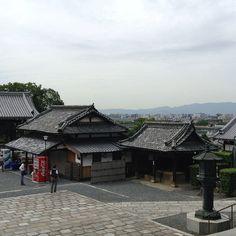 金戒光明寺の本堂から市内を眺める。、 Japanese Temple, Kamakura, Temples, Kyoto, Castles, Mansions, The Originals, House Styles