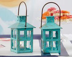 Rustic lantern - vintage lantern - reception table decor - Wedding decor - Table Lantern - Tealight - Tealight lantern - Wedding candle